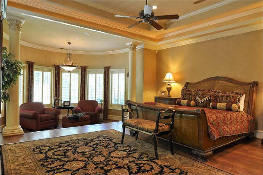 Master Bedroom of this 5-Bedroom,7823 Sq Ft Plan -7823