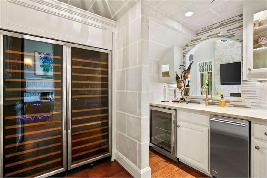 Wet Bar of this 5-Bedroom,7823 Sq Ft Plan -195-1169
