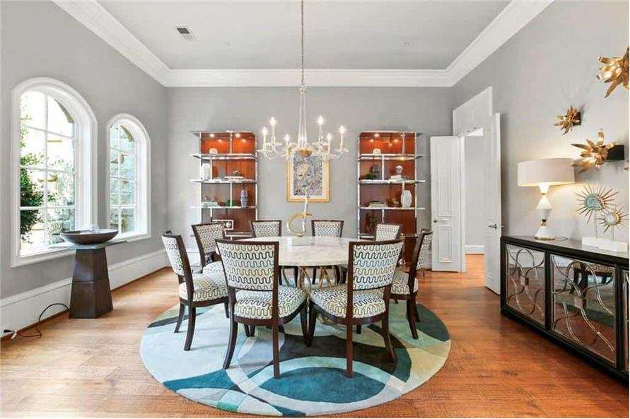 Dining Room of this 5-Bedroom,7823 Sq Ft Plan -195-1169