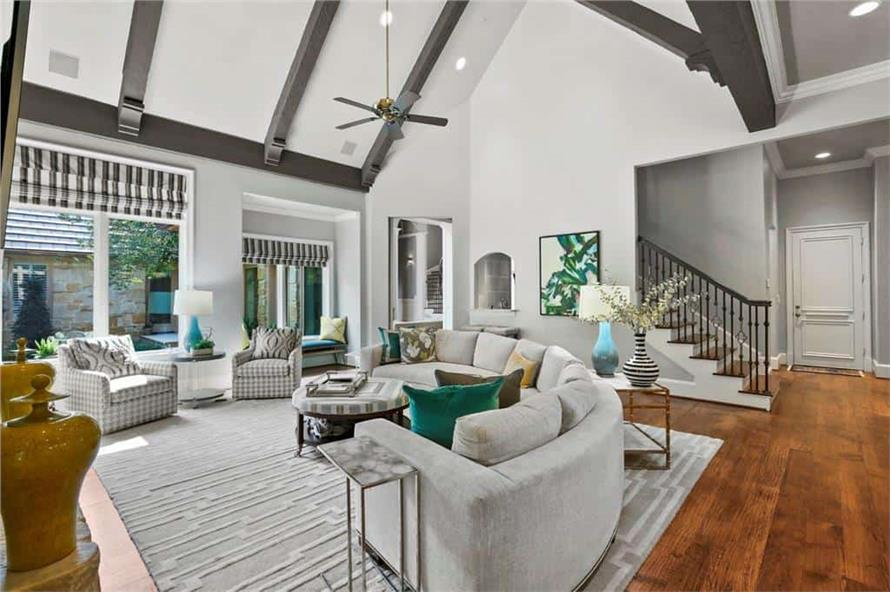 Family Room of this 5-Bedroom,7823 Sq Ft Plan -195-1169