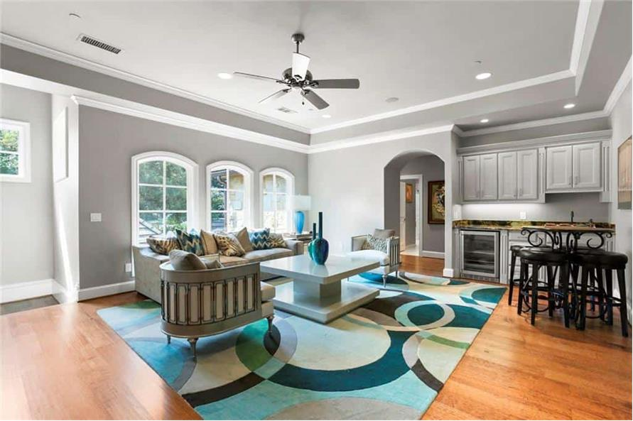Game Room of this 5-Bedroom,7823 Sq Ft Plan -195-1169