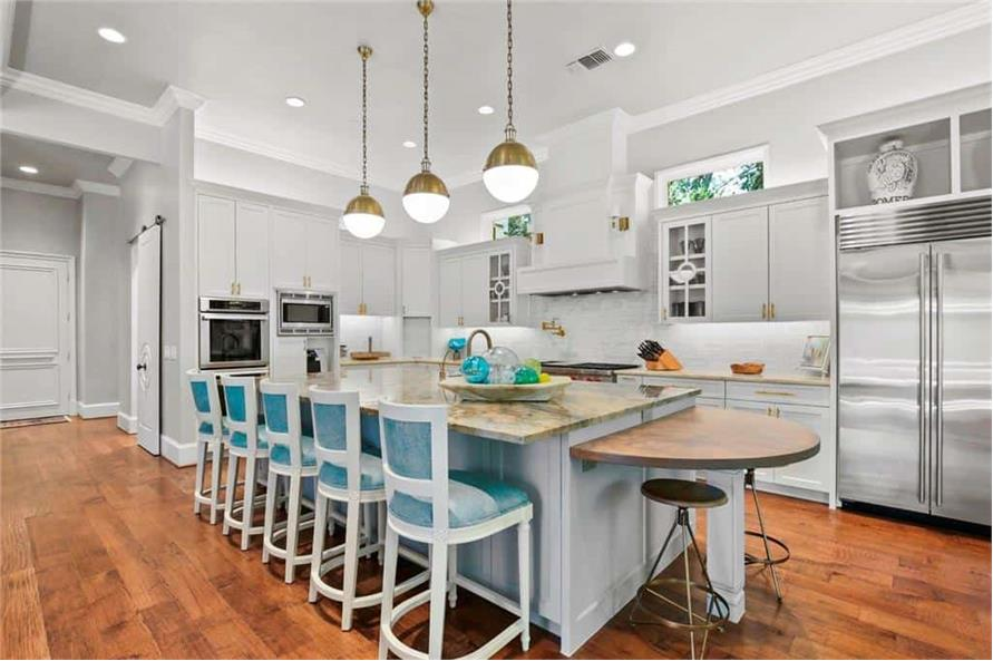 Kitchen of this 5-Bedroom,7823 Sq Ft Plan -195-1169