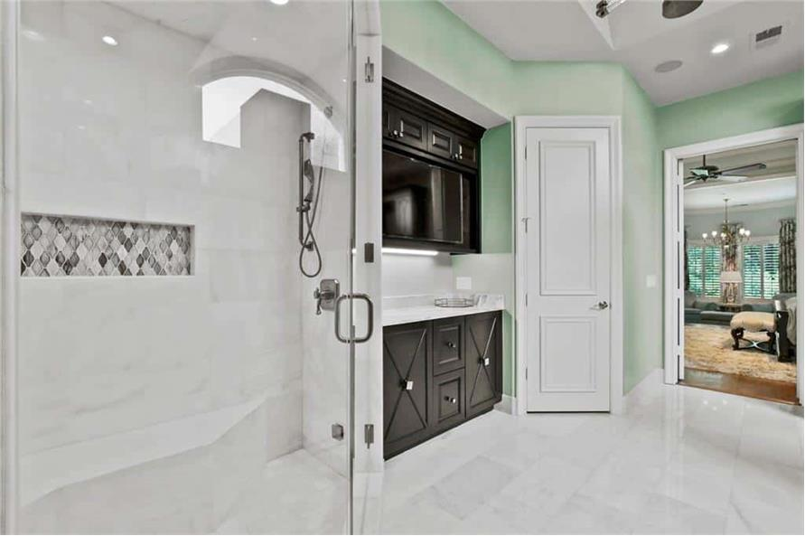 Master Bathroom of this 5-Bedroom,7823 Sq Ft Plan -195-1169