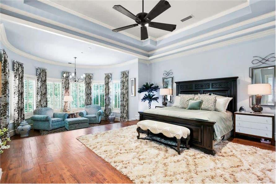 Master Bedroom of this 5-Bedroom,7823 Sq Ft Plan -195-1169