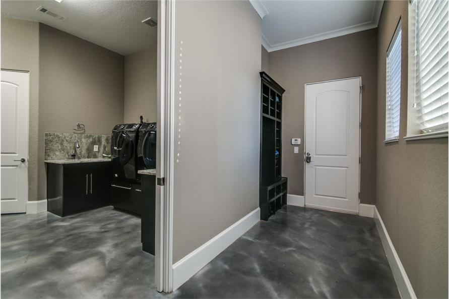 Laundry Room of this 5-Bedroom,6121 Sq Ft Plan -6121