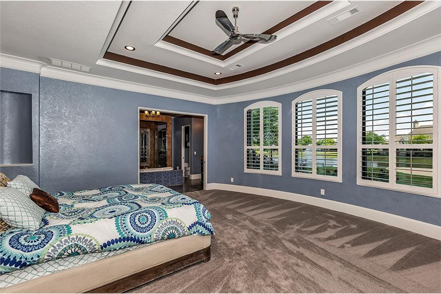 Bedroom of this 5-Bedroom,6121 Sq Ft Plan -6121