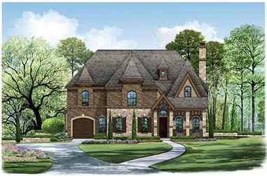 5-Bedroom, 3116 Sq Ft Victorian Home Plan - 195-1178 - Main Exterior