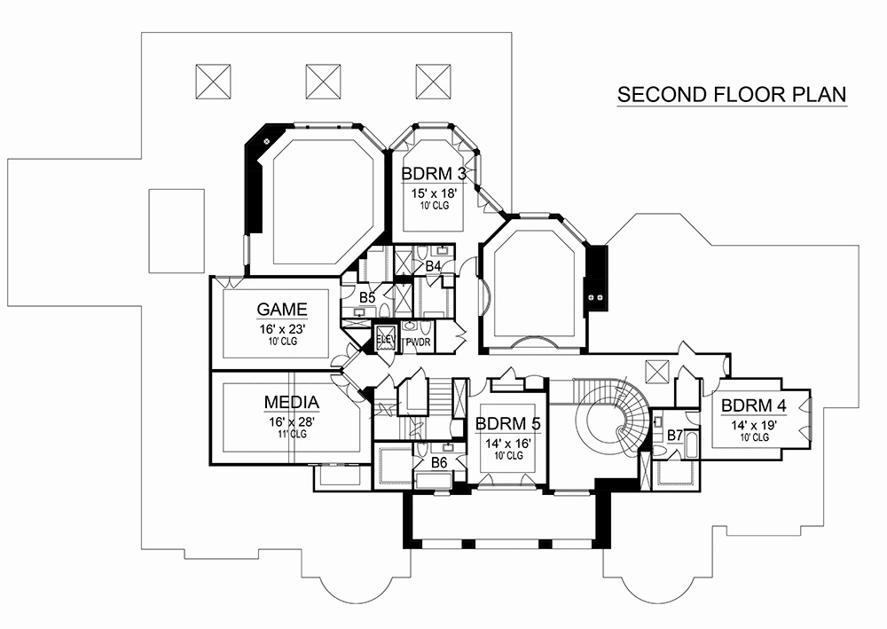5 bedrm  8988 sq ft georgian house plan  195