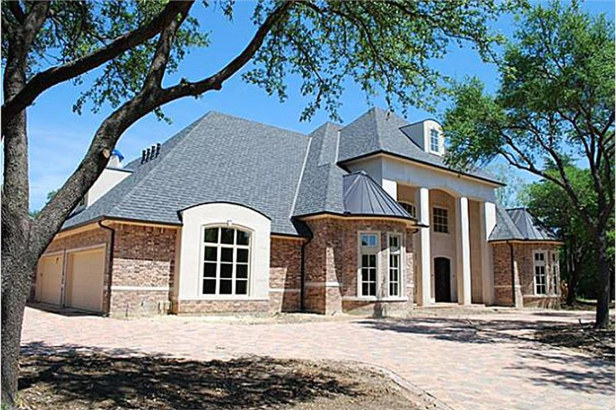 Home Exterior Photograph of this 5-Bedroom,8988 Sq Ft Plan -195-1180
