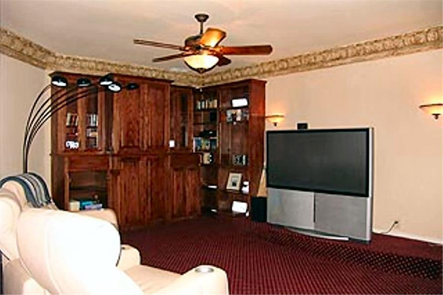 195-1184: Home Interior Photograph-Media Room
