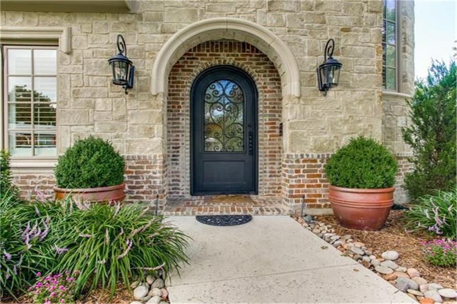 Front Door of this 8-Bedroom,7462 Sq Ft Plan -7462
