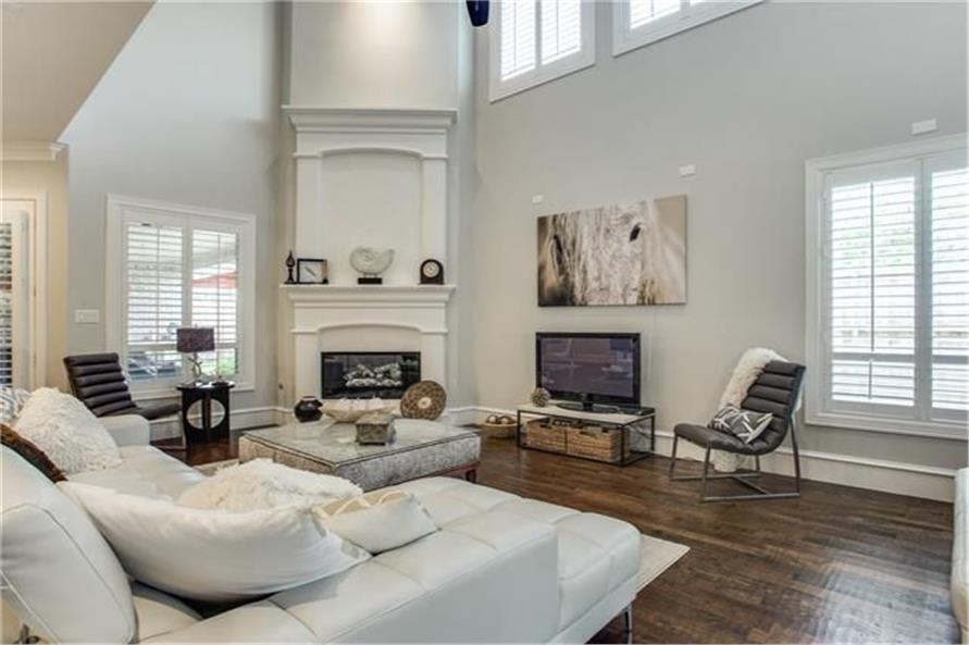 Family Room of this 8-Bedroom,7462 Sq Ft Plan -7462