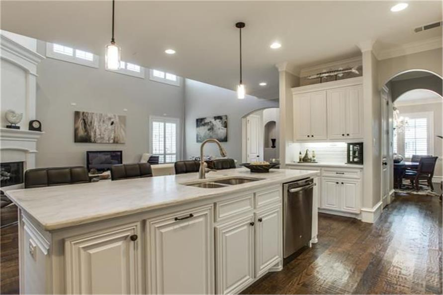 Kitchen of this 8-Bedroom,7462 Sq Ft Plan -7462