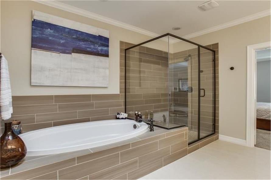 Bathroom of this 8-Bedroom,7462 Sq Ft Plan -7462