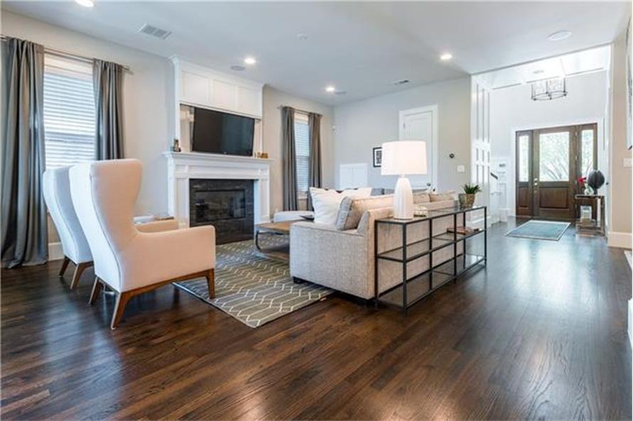 Kitchen: Breakfast Nook of this 4-Bedroom,3245 Sq Ft Plan -3245