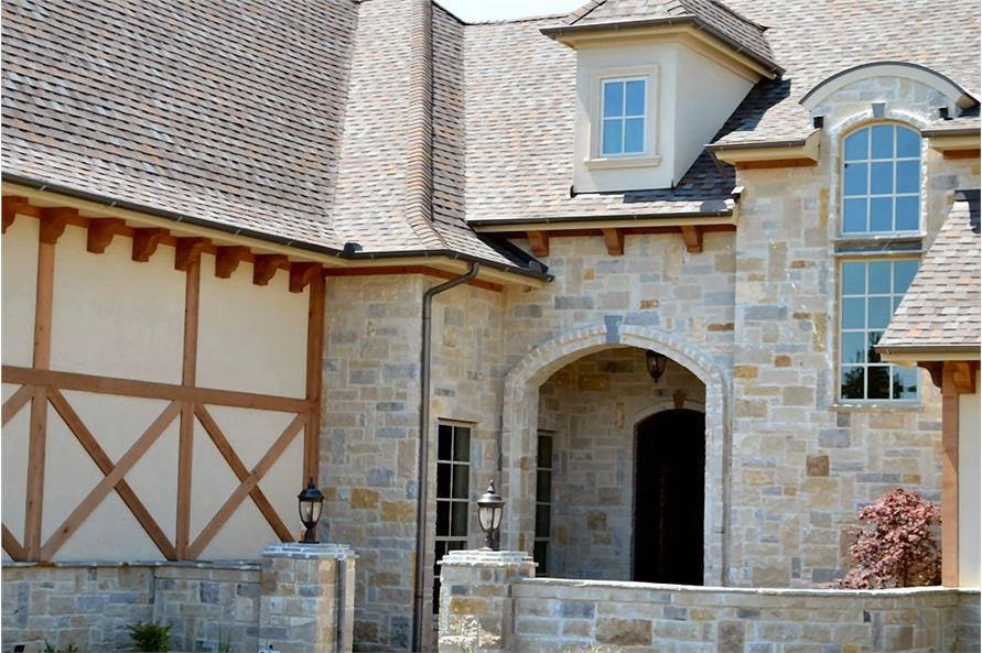 Porch of this 5-Bedroom,5295 Sq Ft Plan -5295