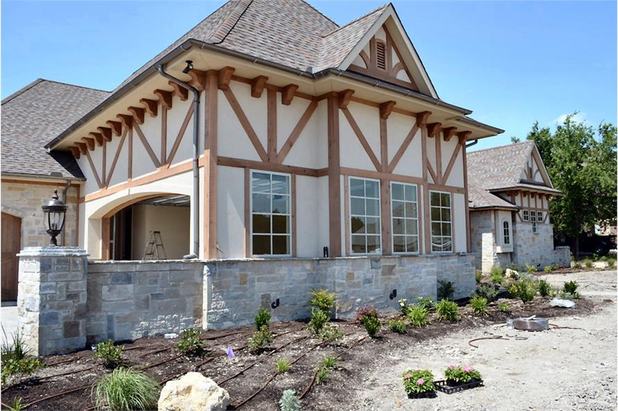 Home Exterior Photograph of this 5-Bedroom,5295 Sq Ft Plan -5295