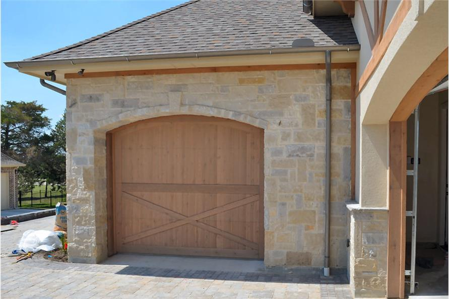 Garage of this 5-Bedroom,5295 Sq Ft Plan -5295