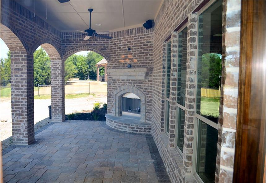 Patio of this 5-Bedroom,5295 Sq Ft Plan -5295