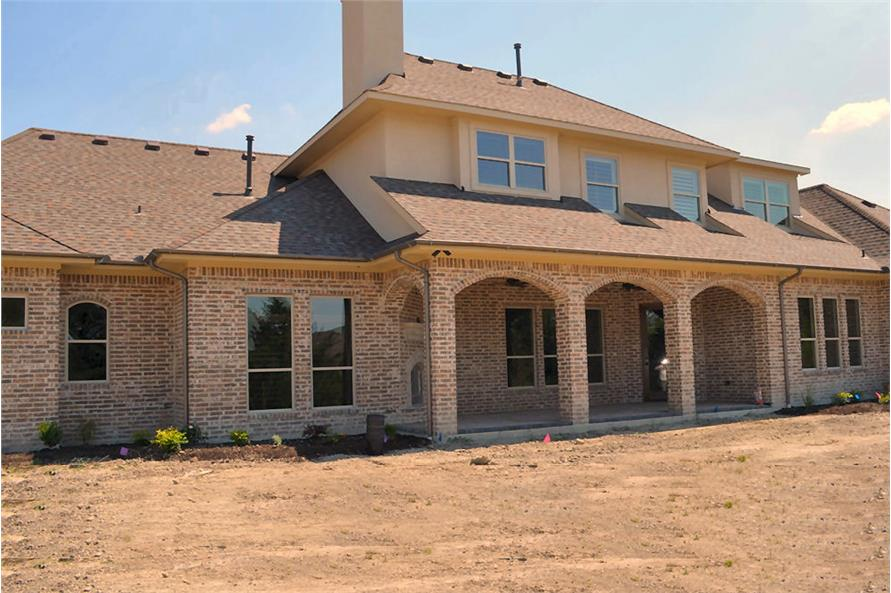 Rear View of this 5-Bedroom,5295 Sq Ft Plan -5295