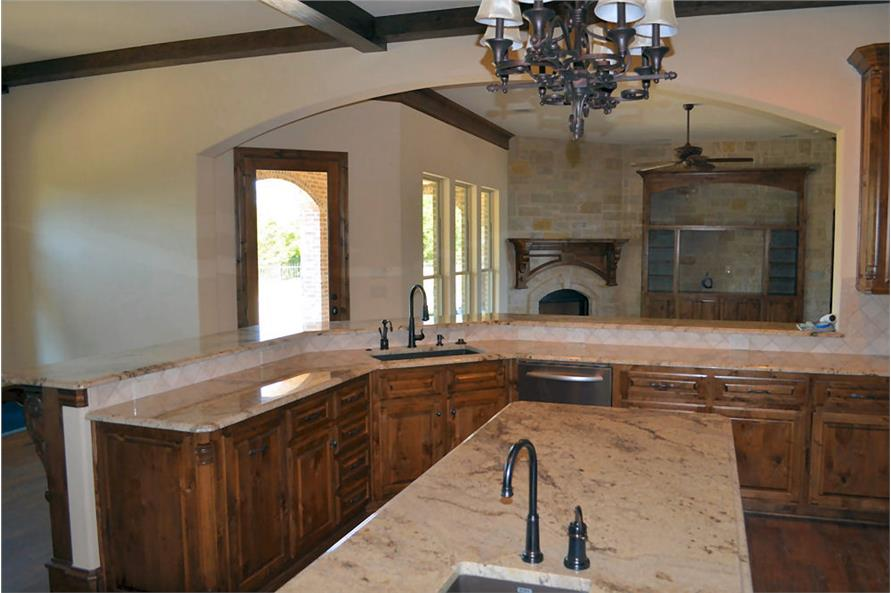 Kitchen of this 5-Bedroom,5295 Sq Ft Plan -5295