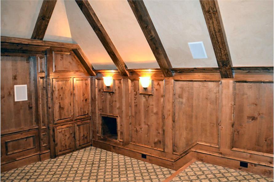 Media Room of this 5-Bedroom,5295 Sq Ft Plan -5295