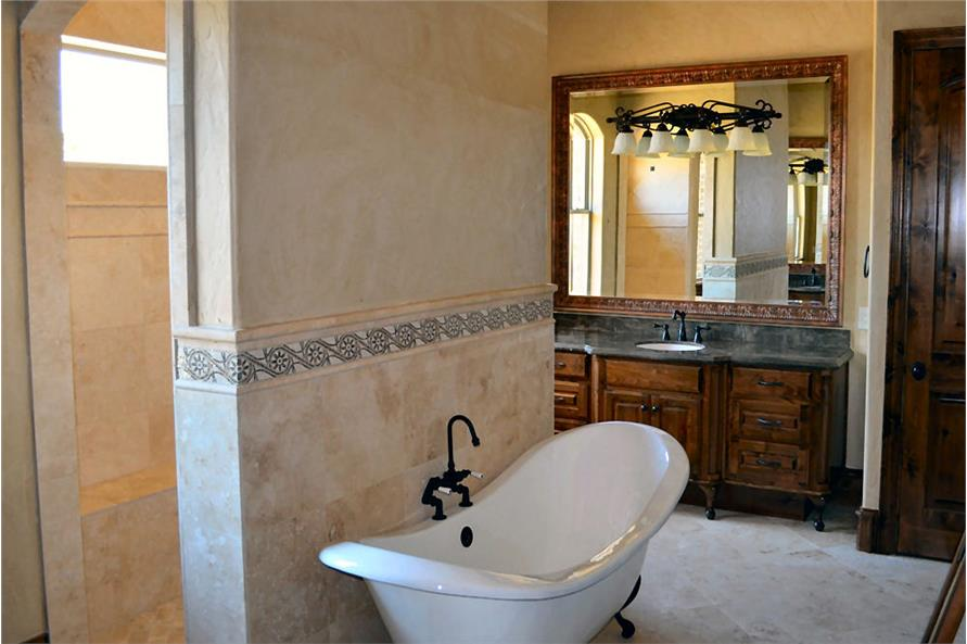 Master Bathroom of this 5-Bedroom,5295 Sq Ft Plan -5295