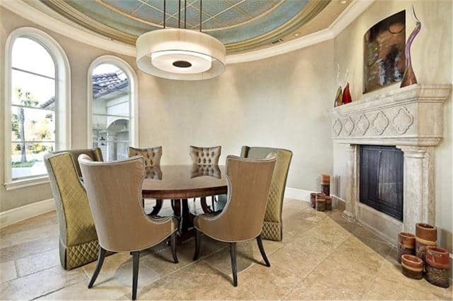 Dining Room of this 5-Bedroom,7587 Sq Ft Plan -7587
