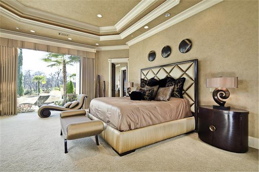 Master Bedroom of this 5-Bedroom,7587 Sq Ft Plan -7587