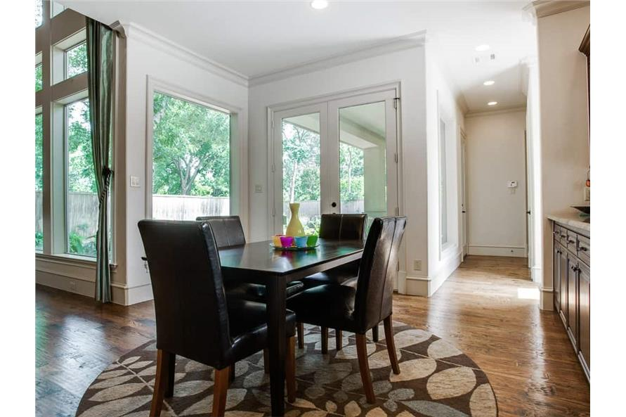 Kitchen: Breakfast Nook of this 4-Bedroom,5300 Sq Ft Plan -5300