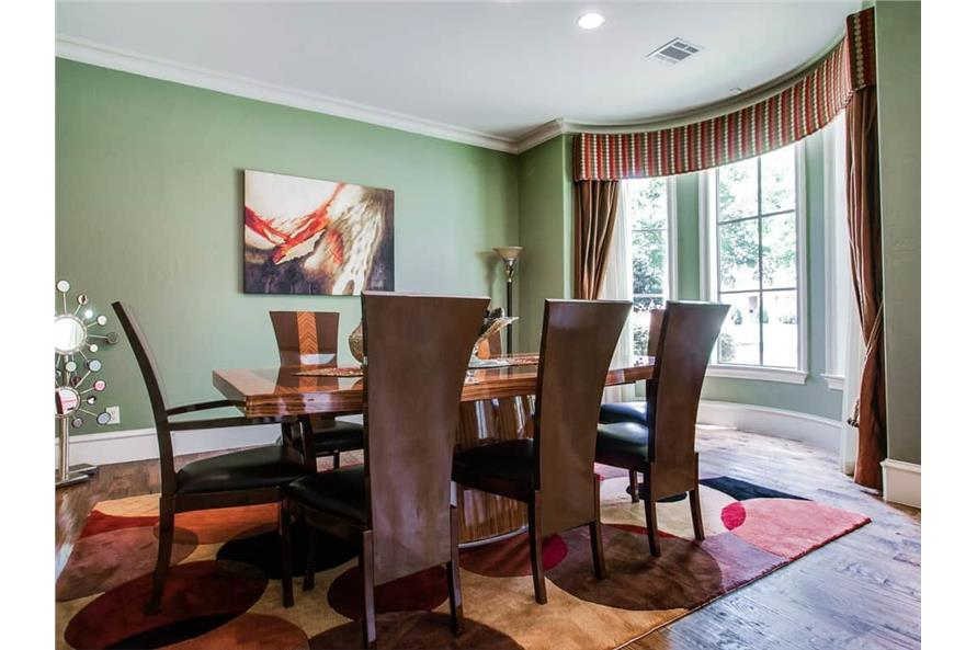 Dining Room of this 4-Bedroom,5300 Sq Ft Plan -5300