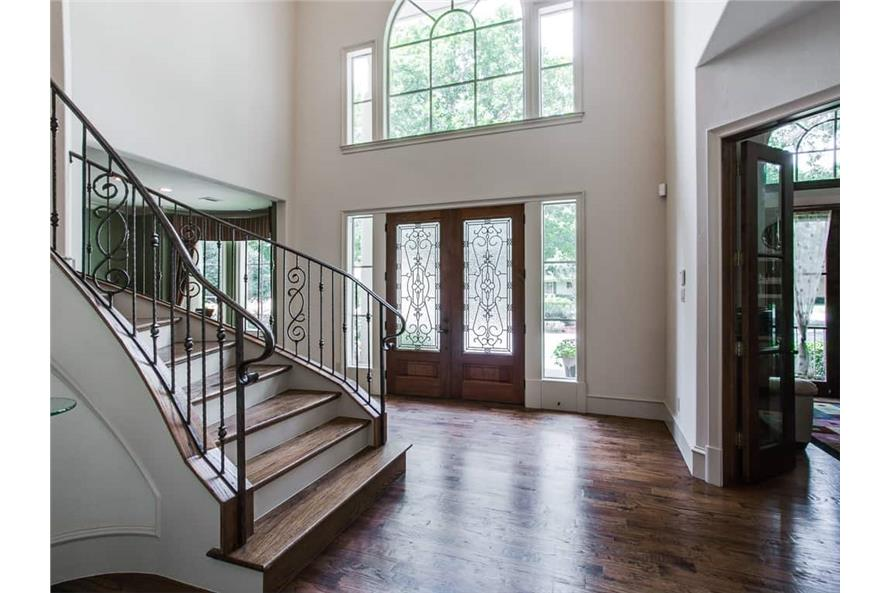 Entry Hall: Foyer of this 4-Bedroom,5300 Sq Ft Plan -5300