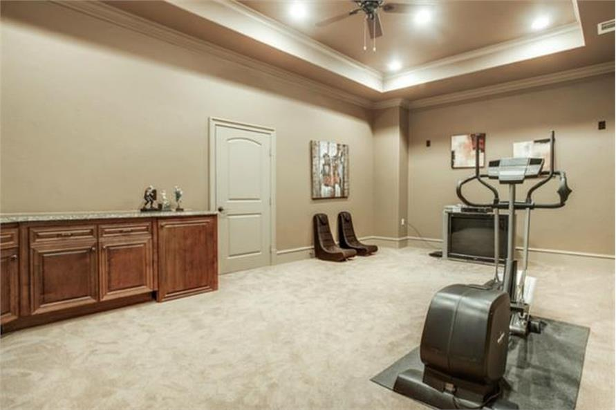 Game Room of this 4-Bedroom,5300 Sq Ft Plan -5300