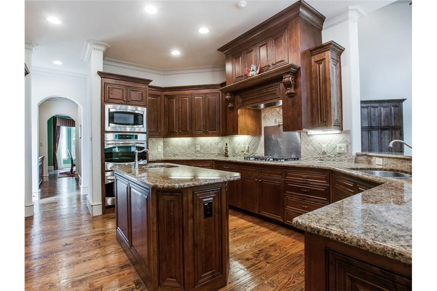 Kitchen of this 4-Bedroom,5300 Sq Ft Plan -5300