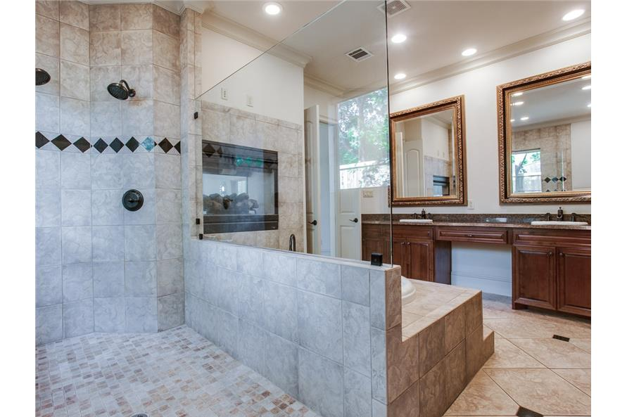 Master Bathroom of this 4-Bedroom,5300 Sq Ft Plan -5300