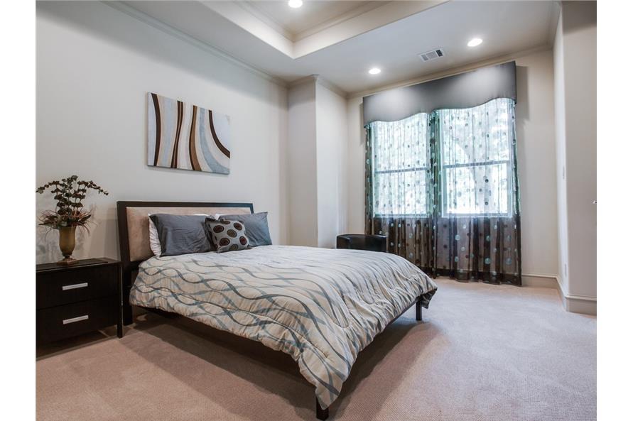 Bedroom of this 4-Bedroom,5300 Sq Ft Plan -5300