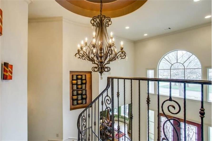 Entry Hall: Staircase of this 4-Bedroom,5300 Sq Ft Plan -5300