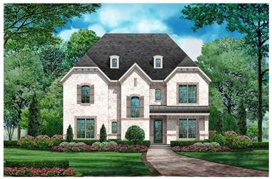 4-Bedroom, 3872 Sq Ft Tudor Home - Plan #195-1222 - Main Exterior