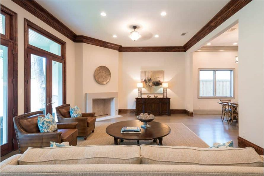 Family Room of this 5-Bedroom,7918 Sq Ft Plan -7918