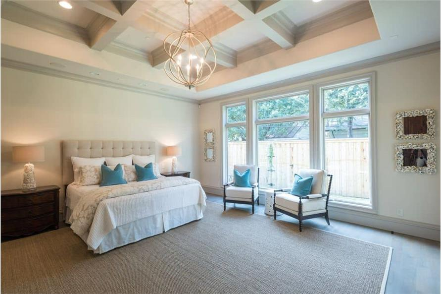 Master Bedroom of this 5-Bedroom,7918 Sq Ft Plan -7918