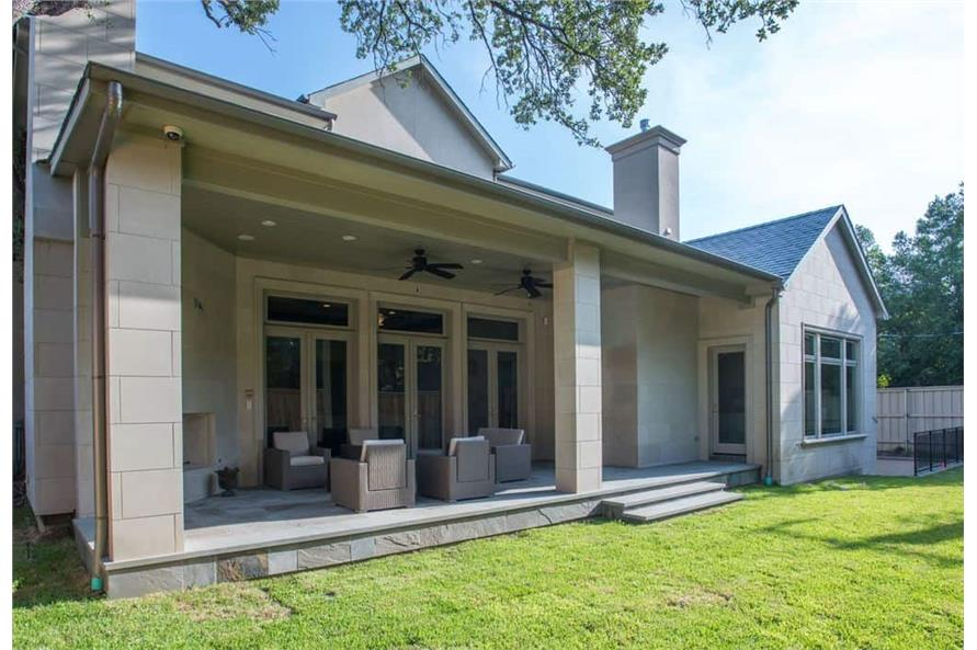 Patio of this 5-Bedroom,7918 Sq Ft Plan -7918
