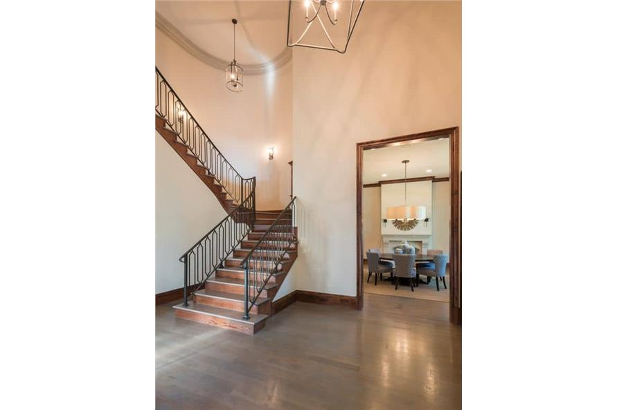Entry Hall: Foyer of this 5-Bedroom,7918 Sq Ft Plan -7918
