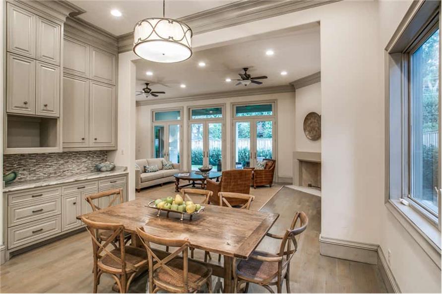 Kitchen: Breakfast Nook of this 5-Bedroom,7918 Sq Ft Plan -7918