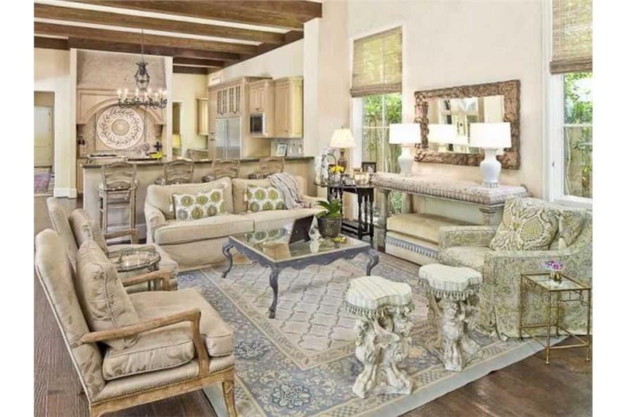 Family Room of this 5-Bedroom,7700 Sq Ft Plan -195-1243