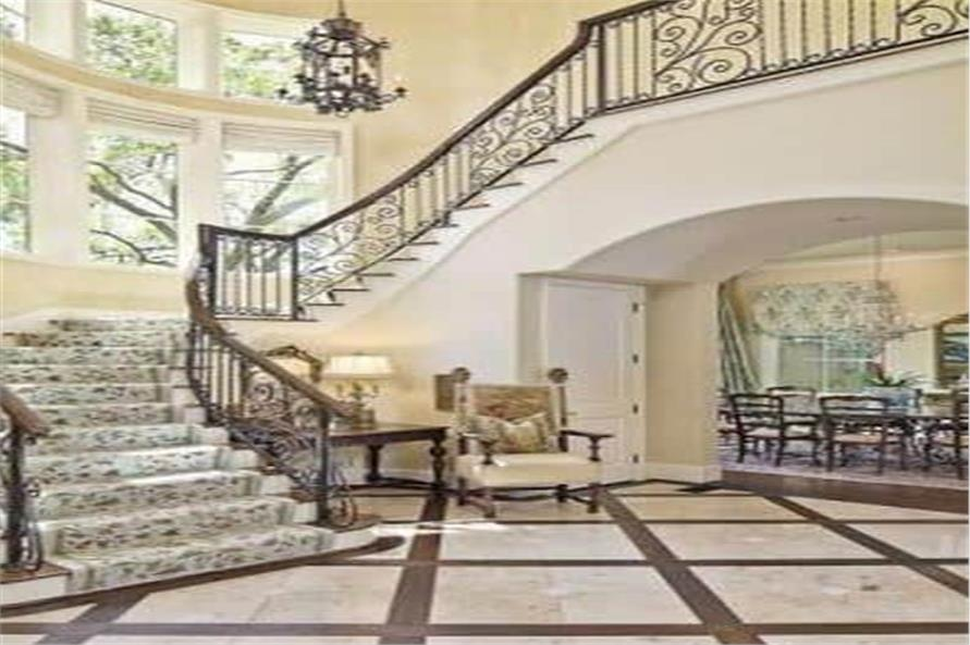 Entry Hall: Foyer of this 5-Bedroom,7700 Sq Ft Plan -195-1243