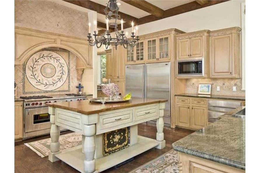Kitchen of this 5-Bedroom,7700 Sq Ft Plan -195-1243