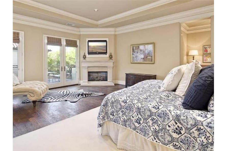 Master Bedroom of this 5-Bedroom,7700 Sq Ft Plan -195-1243