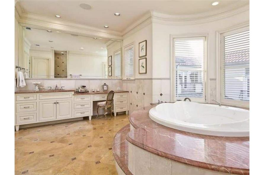 Master Bathroom of this 5-Bedroom,7700 Sq Ft Plan -195-1243