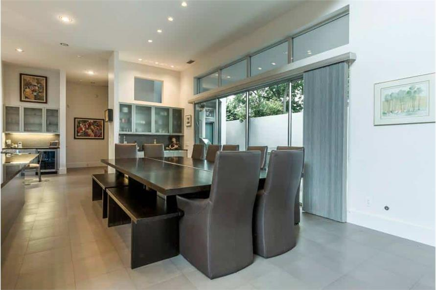 Dining Room of this 3-Bedroom,4580 Sq Ft Plan -195-1249