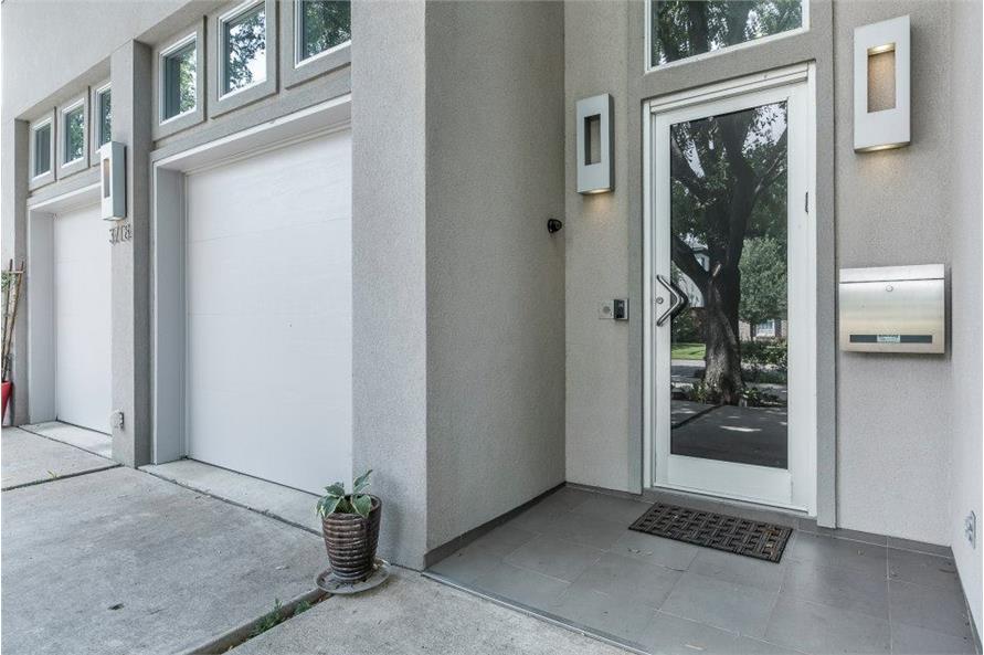 Front Door of this 3-Bedroom,4580 Sq Ft Plan -195-1249